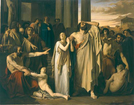 antigone right v right Antigone right or wrong antigone was right in defying the king creon because she had the right to bury her brother and her brother had the right to receive a.